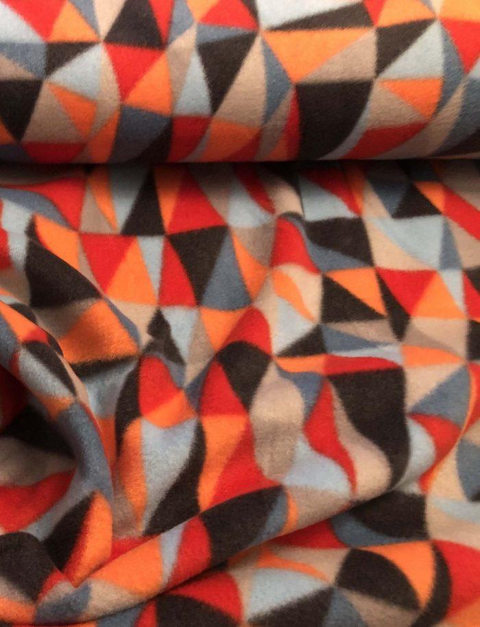 Diamond Multi Color Fleece