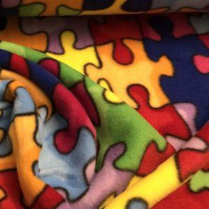 Jigsaw Piece Fleece